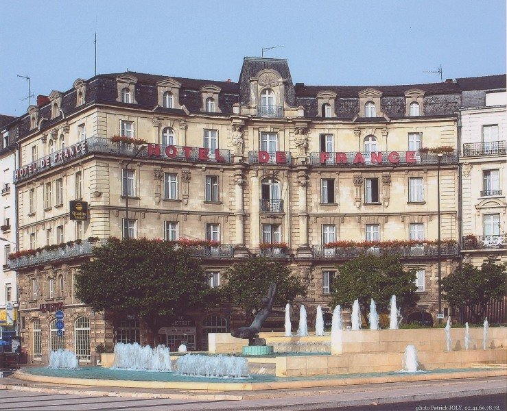 HotelHotel de France Angers