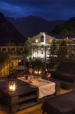 Abba Xalet Suites - Terrasse