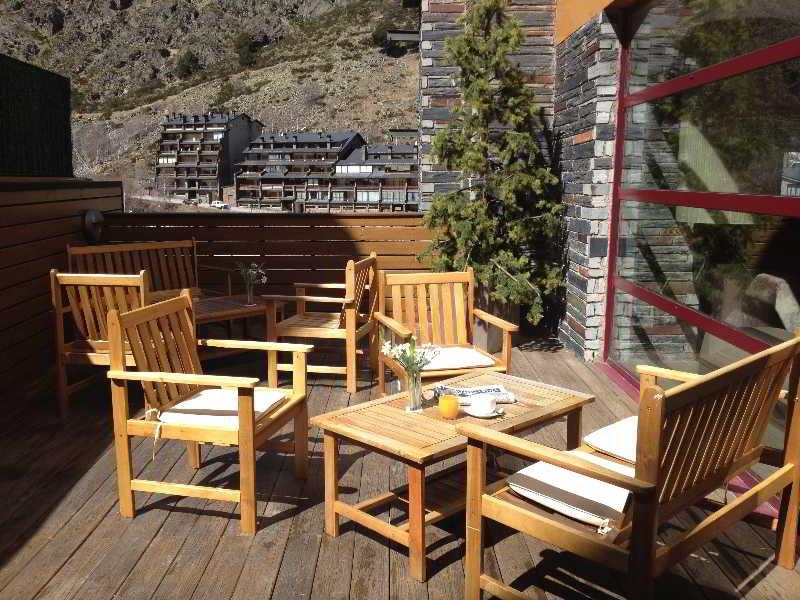 Galanthus & Spa - Terrasse