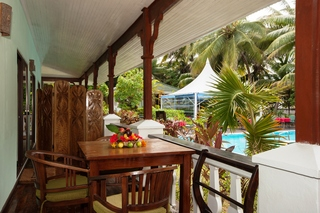 Hotels in Seychelles Island: Le Relax Beach Resort
