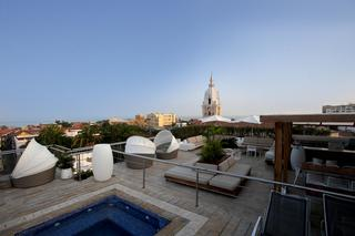 Movich Hotel Cartagena de Indias (SLH) - Terrasse