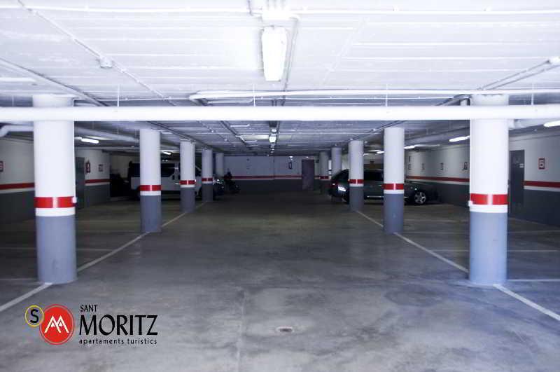 Apartamentos Sant Moritz - Terrasse