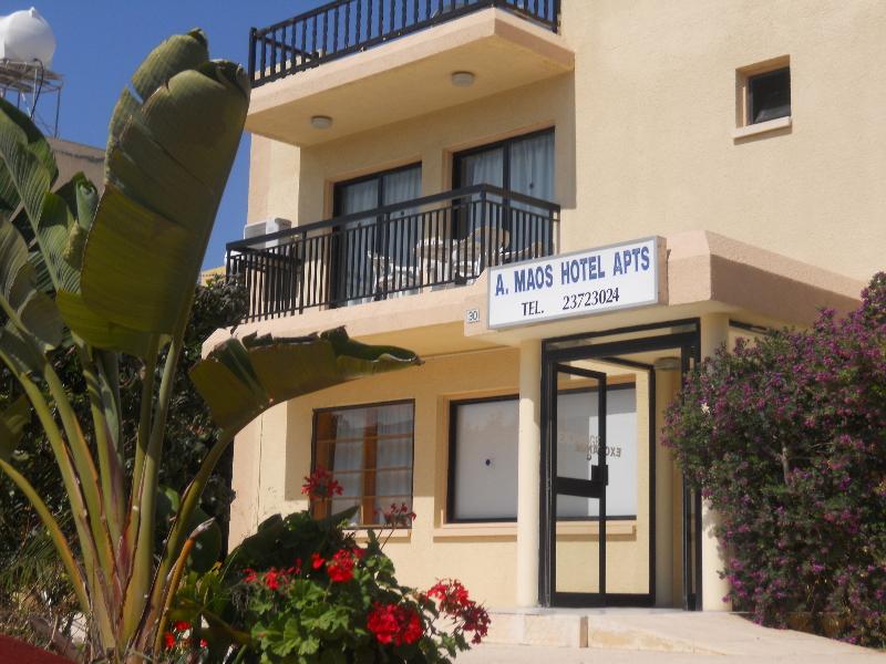 Hotels in Ayia Napa: A. Maos Apts