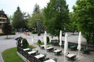 Stefanihof Hotel - Terrasse