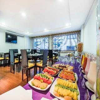 Travelers Apartamentos y Suites Obelisco - Restaurant