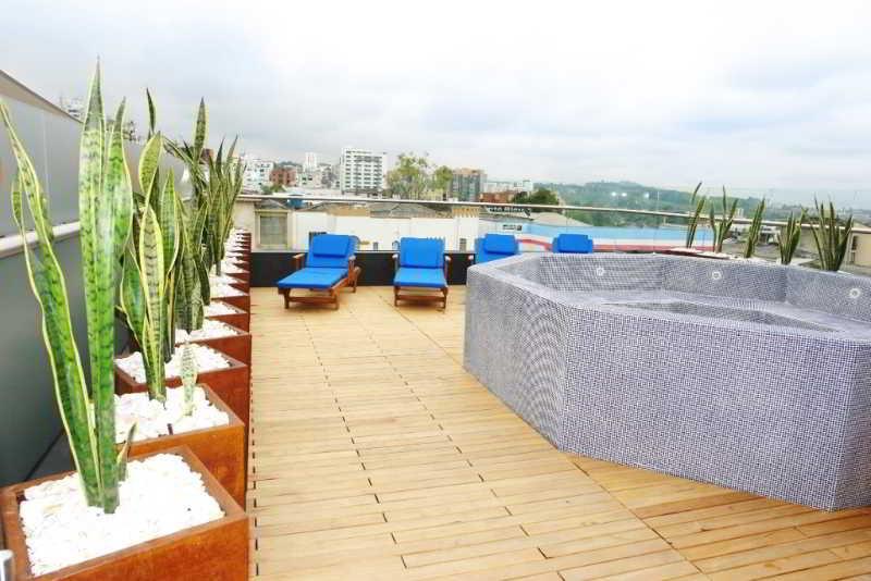Zione Luxury Hotel Pereira - Terrasse