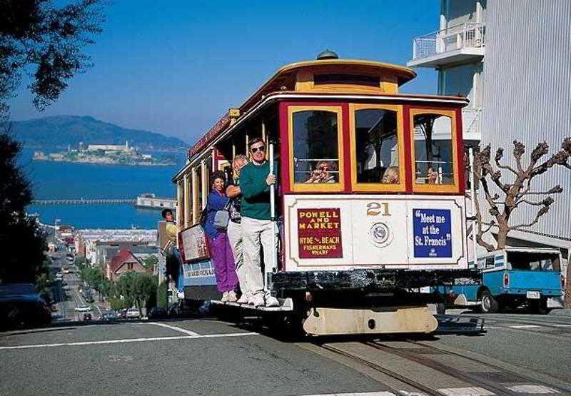 san francisco cable car фото