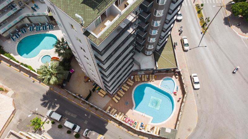 Аланья - Kleopatra Tower Apart Hotel