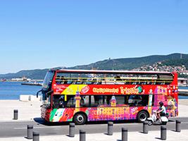 Trieste Excursions & Tours - Trieste tourist bus