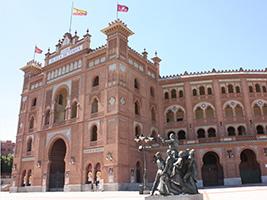 Visita a la plaza de toros de Las Ventas