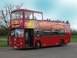 Ausflüge in Newport - Newport tourist bus
