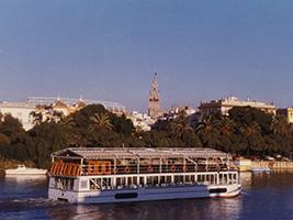 Crucero panorámico por el río en Sevilla