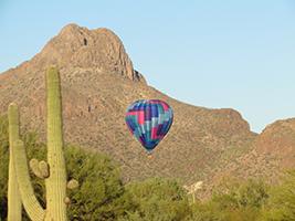 Excursions in Tucson - AZ - Tucson Hot Air Balloon Tour