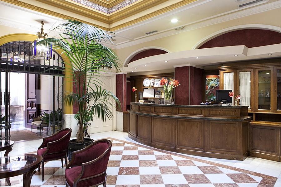 Hotel Cervantes en Sevilla