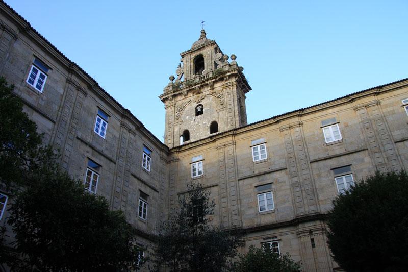 Hospederia San Martin Pinario en Santiago de Compostela