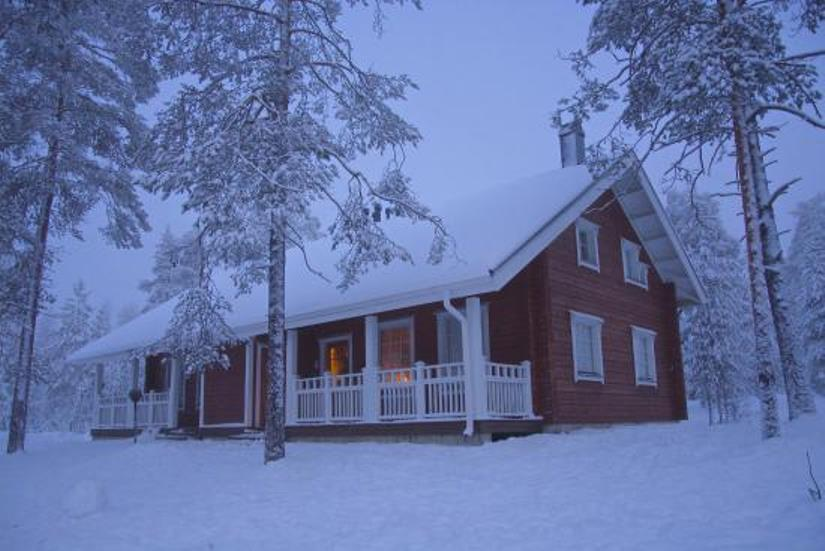 Snowy Cottages, Lakituvat, Lapland
