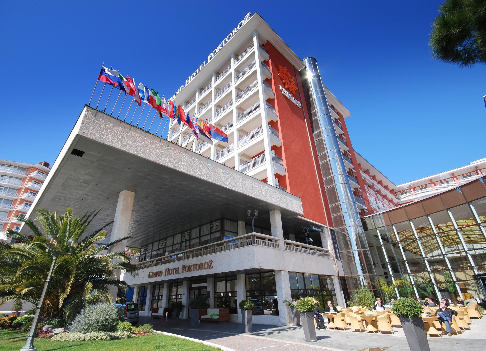 Grand Hotel Portoroz In Portoroz Adriatic Coast Karst Slovenia Portoroz Adriatic Coast Karst Hotel Booking
