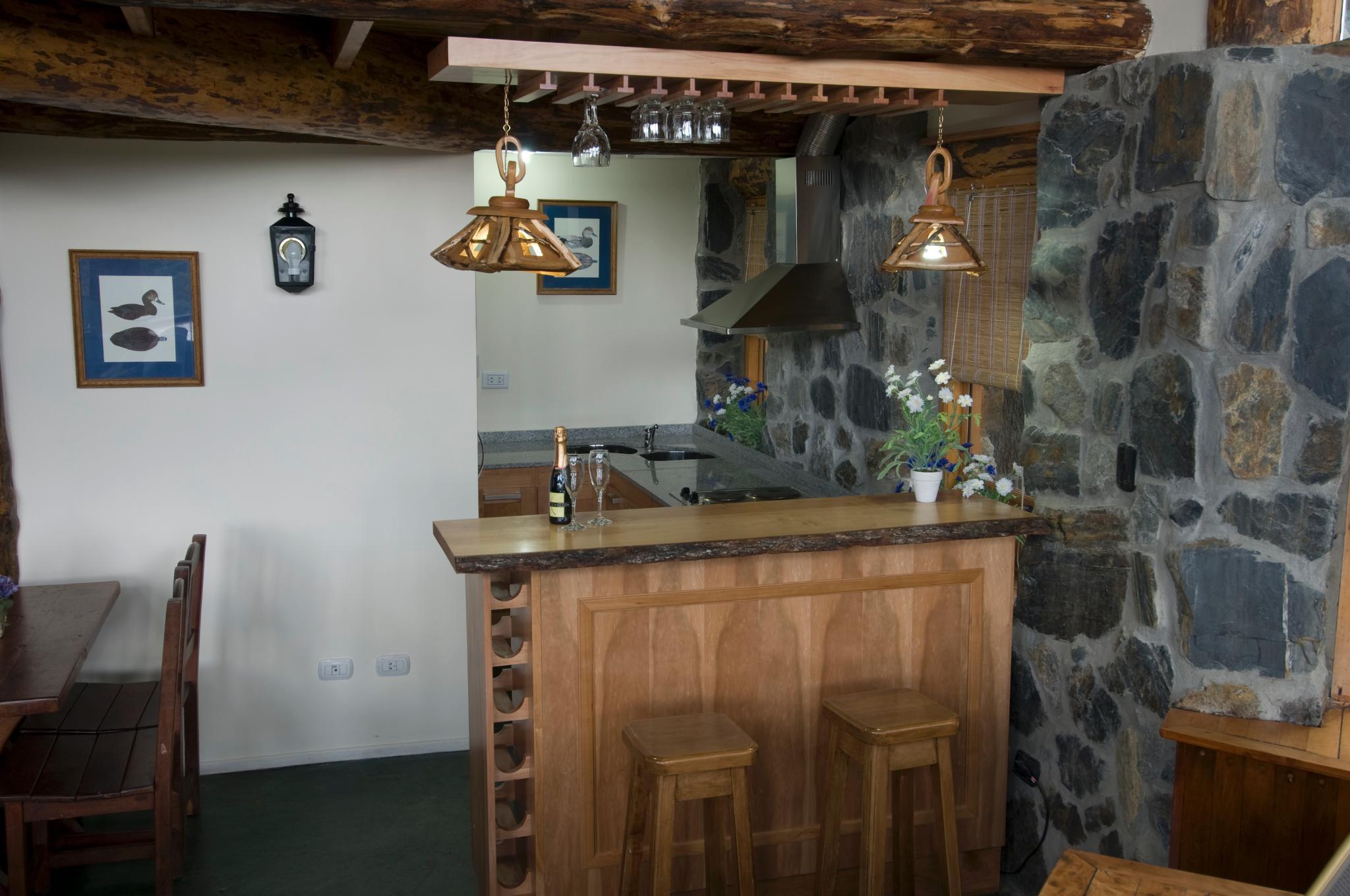 Lodge with kitchenette