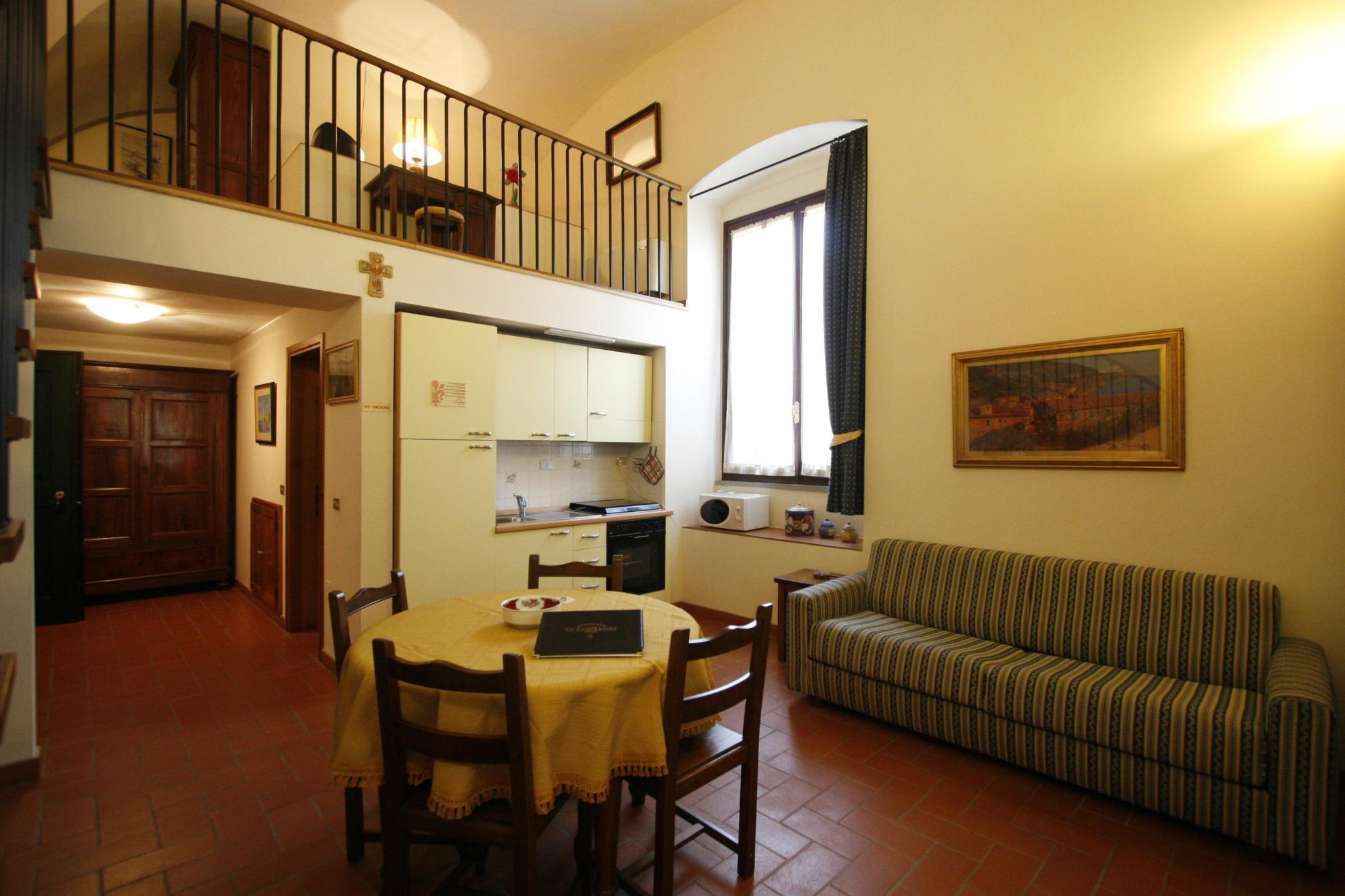 Apartment capacity 5 one bedroom
