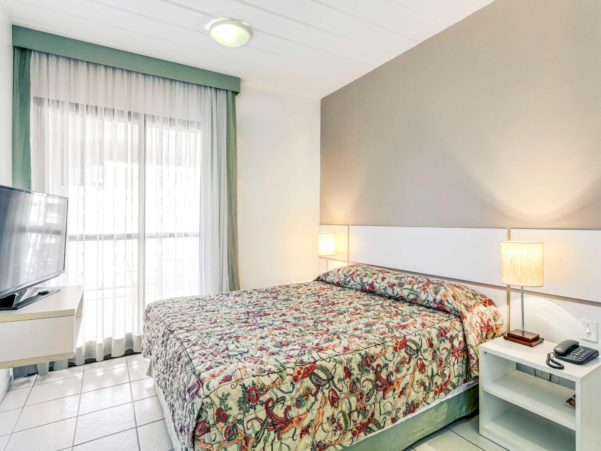 Apartment with double bed