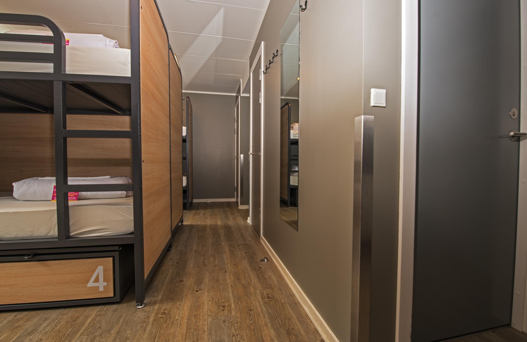Bed in dormitory one bedroom