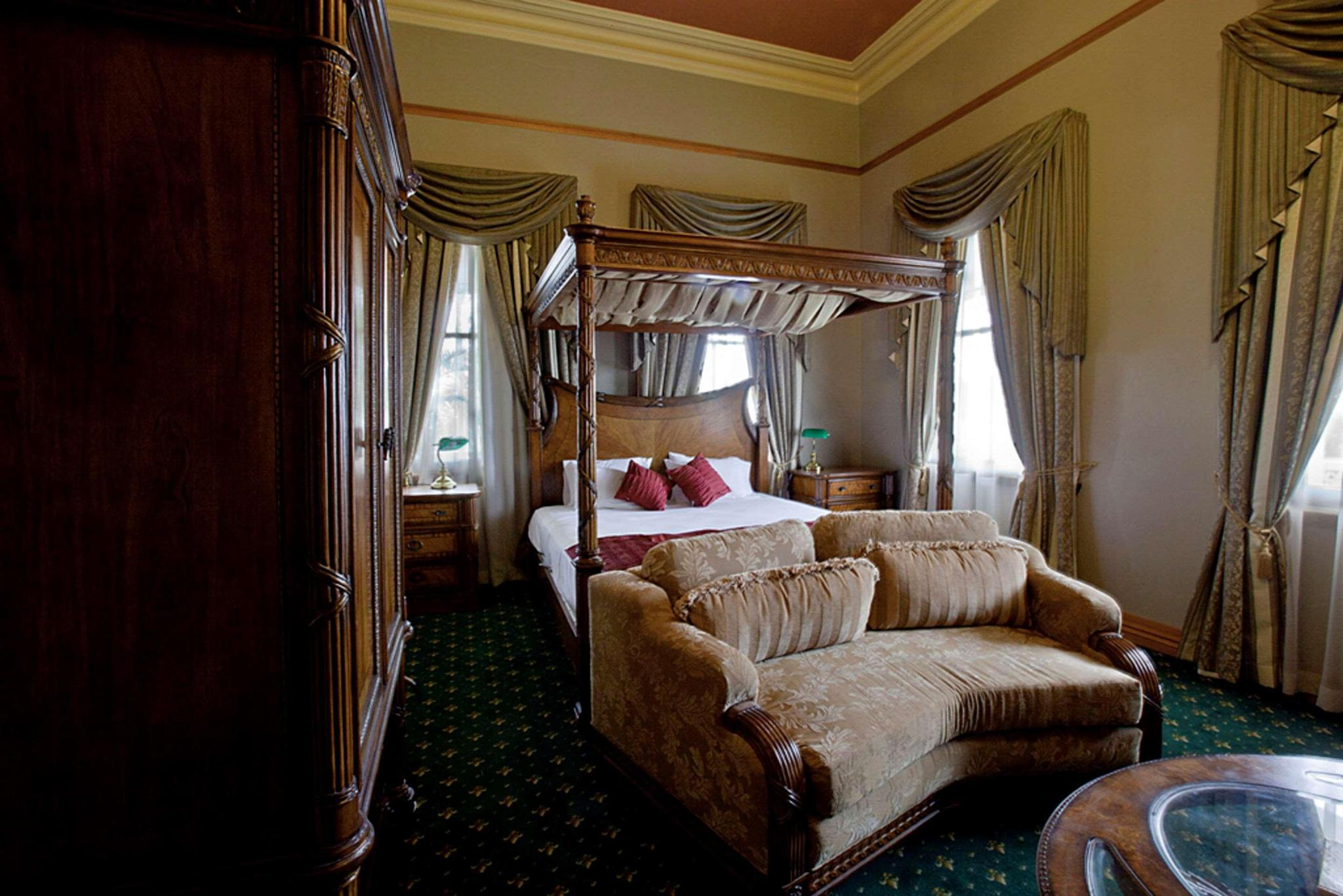 Double king size bed