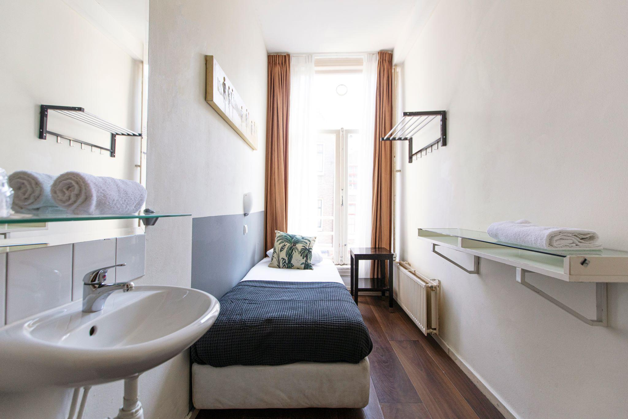 Single economy with shared bathroom