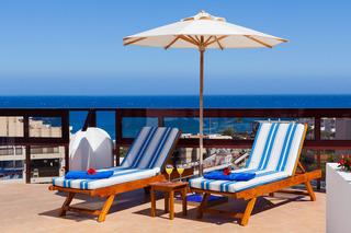 Seaside Sandy Beach - Terrasse