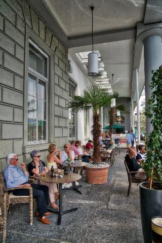 Schweizerhof Lucerne - Terrasse