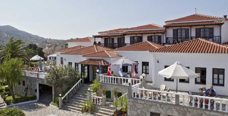 Dionyssos, Main Street Skopelos,