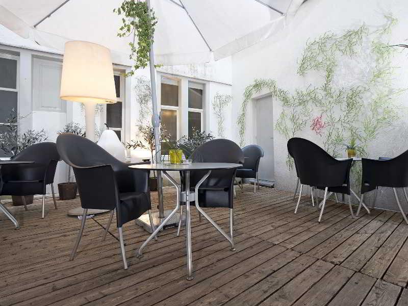Designhotel Plattenhof - Terrasse