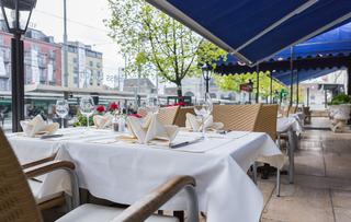 Hotel Euler Basel - Terrasse