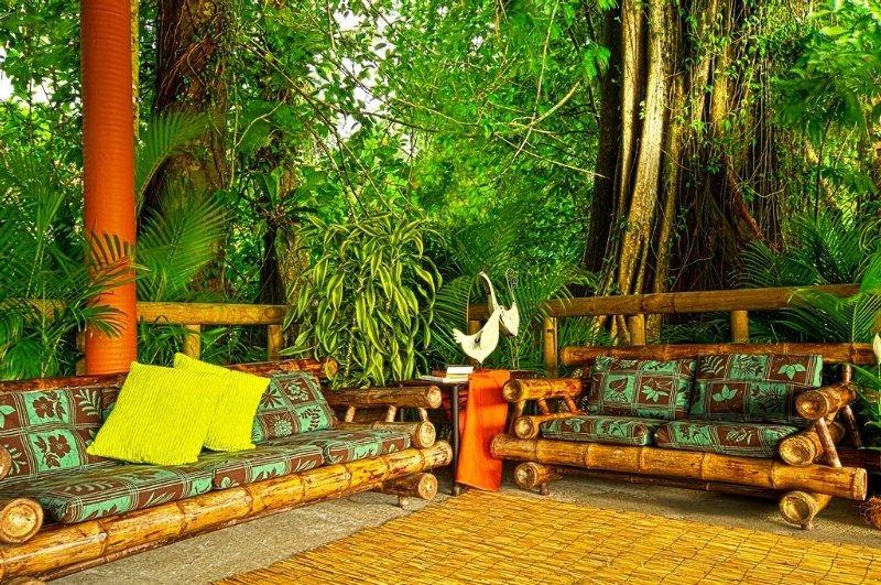 Evergreen Lodge - Terrasse