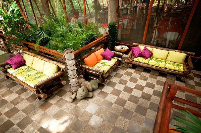 Pachira Lodge - Terrasse