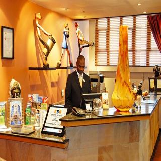 Cape Town Lodge Hotel - Diele