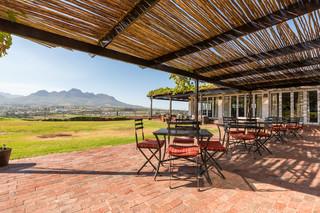 Protea Hotel Stellenbosch - Terrasse