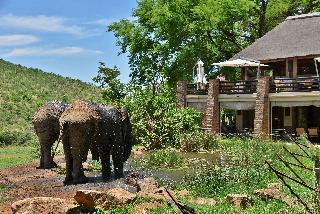 Kwa Maritane Bush Lodge - Terrasse
