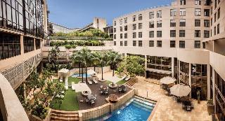 Garden Court South Beach - Terrasse