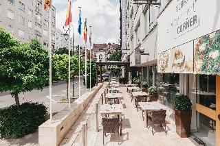 Catalonia Brussels - Terrasse