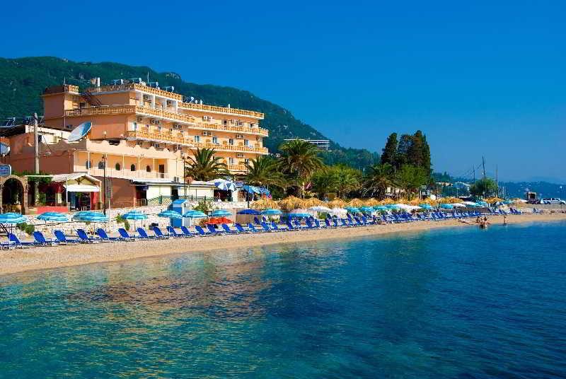 Potamaki Beach Hotel, Benitses Beach,