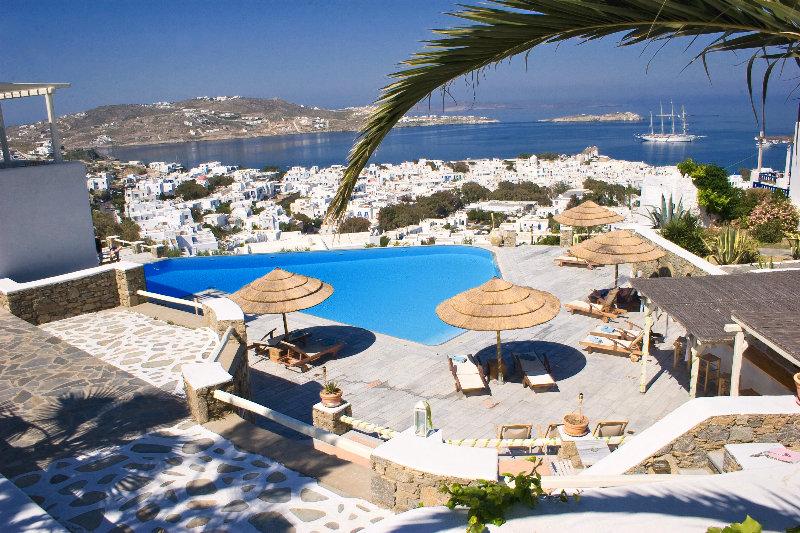 Vencia Boutique Hotel, Agios Elefterios,