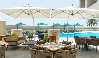 Sheraton Dubai Creek Hotel and Towers - Terrasse
