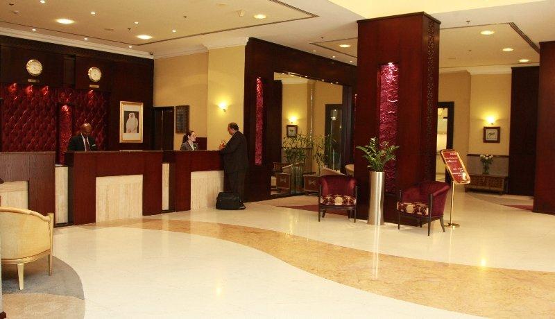 Merwebhotel Al Sadd - Diele