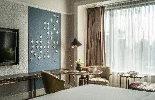 Four Seasons Hotel Singapore - Zimmer