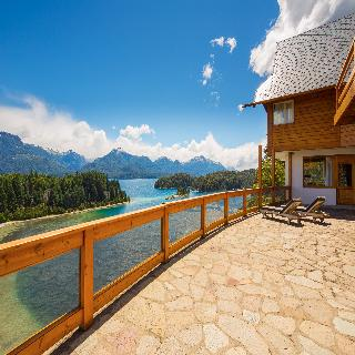 Isla Victoria Lodge - Terrasse