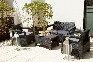 Argenta Tower Hotel & Suites - Terrasse