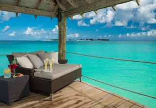 Sandals Royal Bahamian Spa Resort - Terrasse