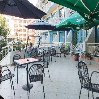 Aquamarine Hotel - Terrasse