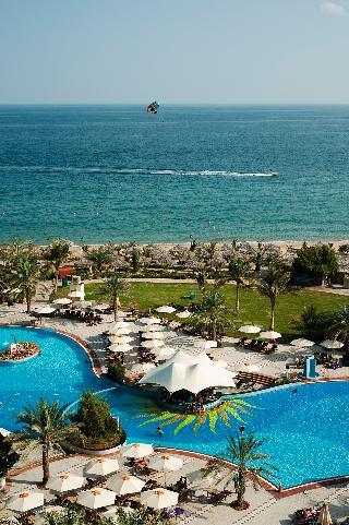 Le Méridien Al Aqah Beach Resort - Terrasse