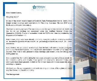 Cebu Parklane International Hotel - Generell